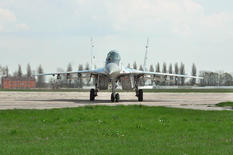 Украинская военновоздушная сила MiG-29 стоковые фотографии rf