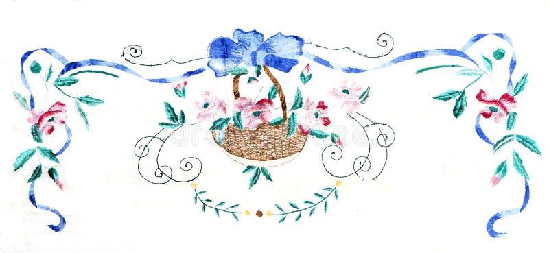 Украинская фольклорная вышивка, народные искусства и ремесла, handmade иллюстрация штока