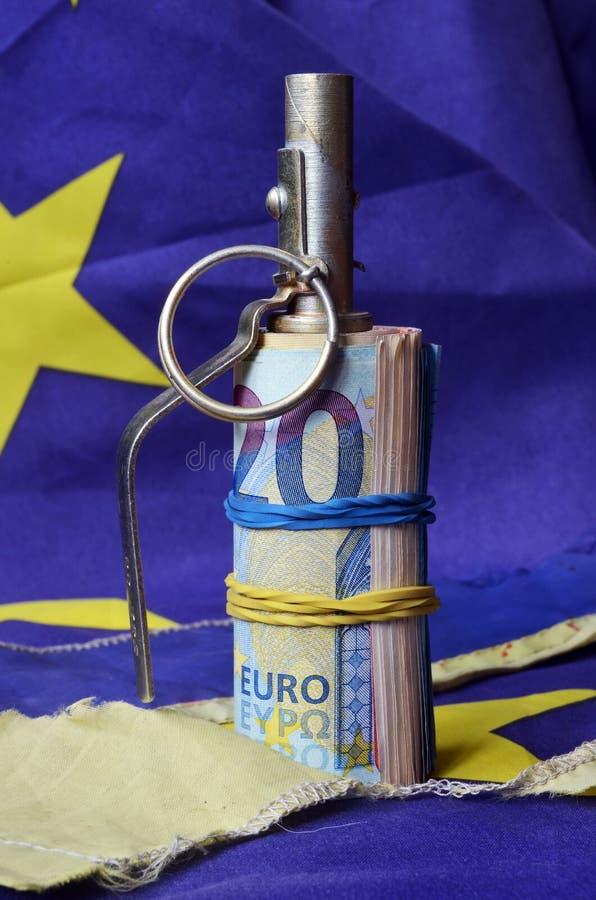 Украинский детонатор для Европы стоковое изображение