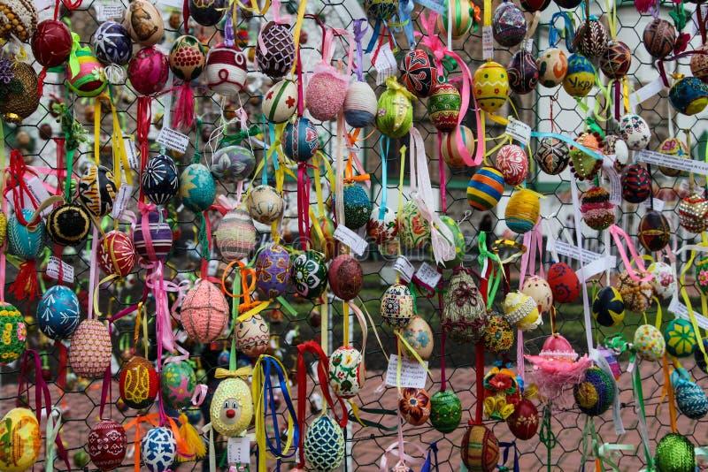 Украинский фестиваль Kyiv пасхальных яя 17.04.2014 до 05.05.2014, стоковые фото