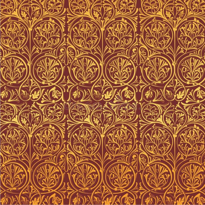 Украшение вектора градиента орнамента оформления стоковое изображение rf
