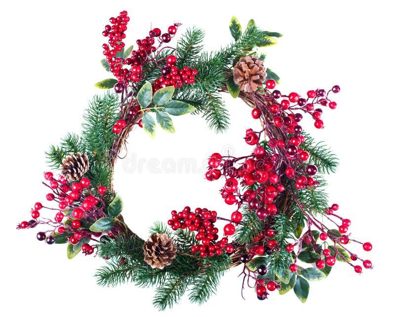Download Украшение венка рождества стоковое фото. изображение насчитывающей праздненство - 81809134