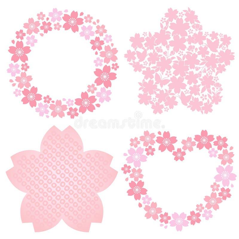 украшение вишни цветения иллюстрация штока