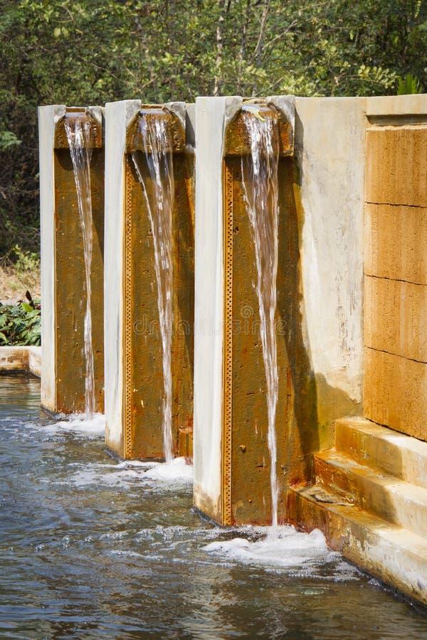 Украшение водопада стоковое изображение