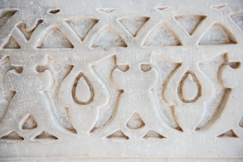 Украшение в Mubarak Mahal стоковые изображения rf