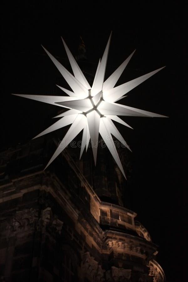 Украшение звезды рождества плотное стоковая фотография rf