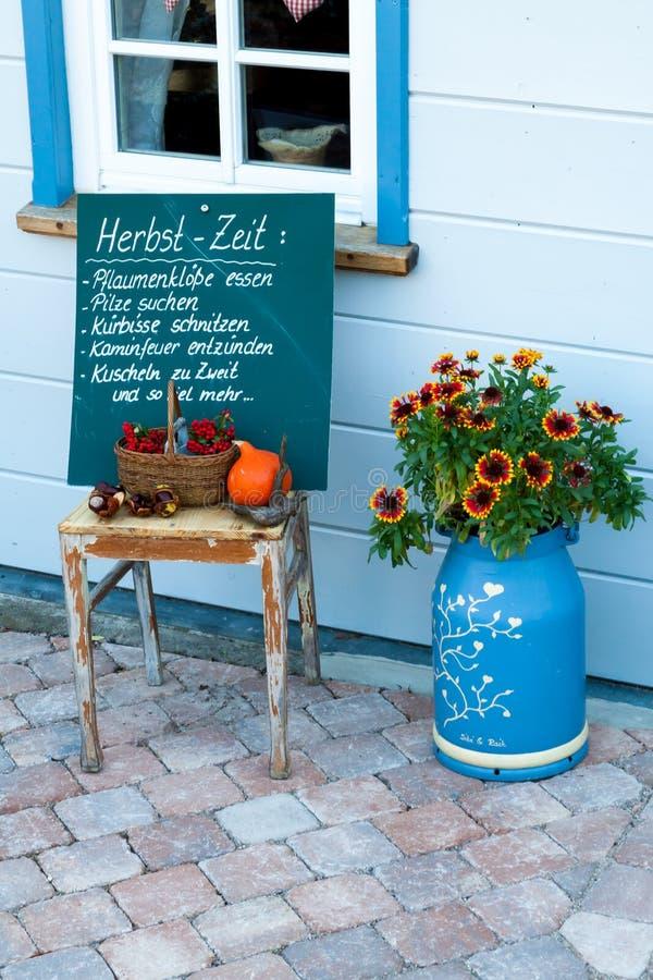 Украшение на осень стоковая фотография rf