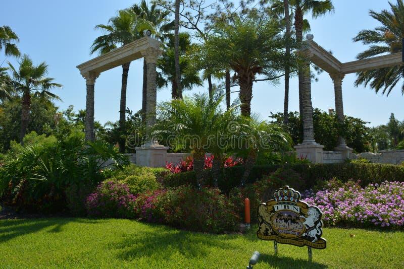 Украшение открытого сада - опыт Святой Земли стоковая фотография rf