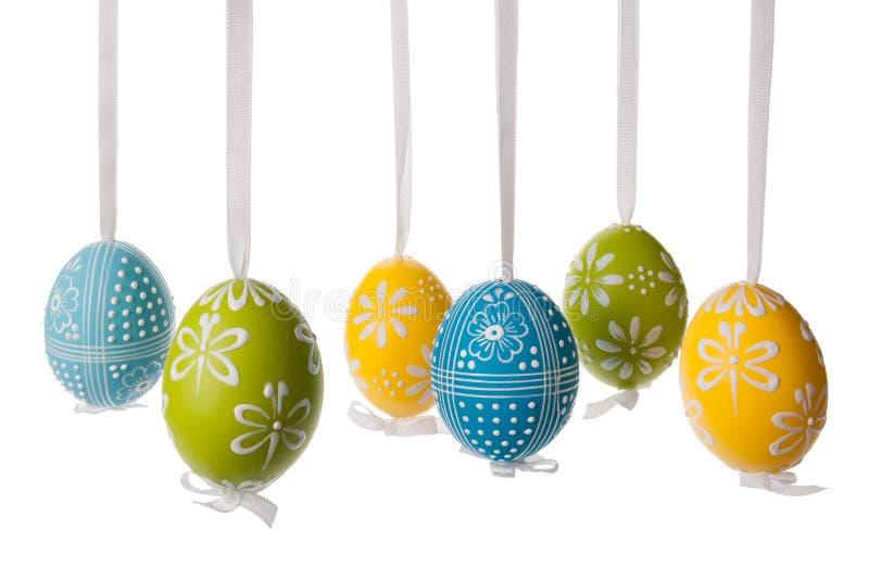 Украшение пасхального яйца стоковое изображение rf