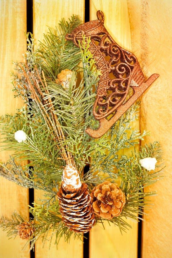 Украшение праздников зимы стоковое фото rf