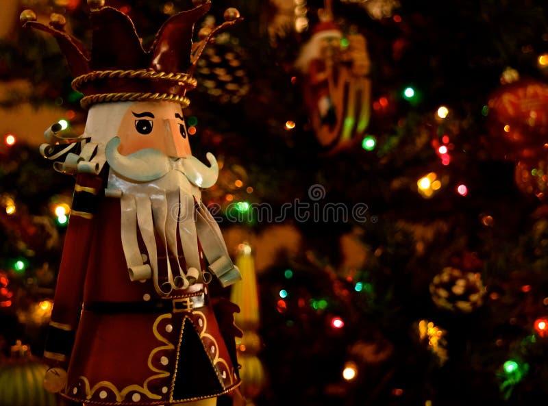 Украшение рождества - Щелкунчики стоковое изображение rf
