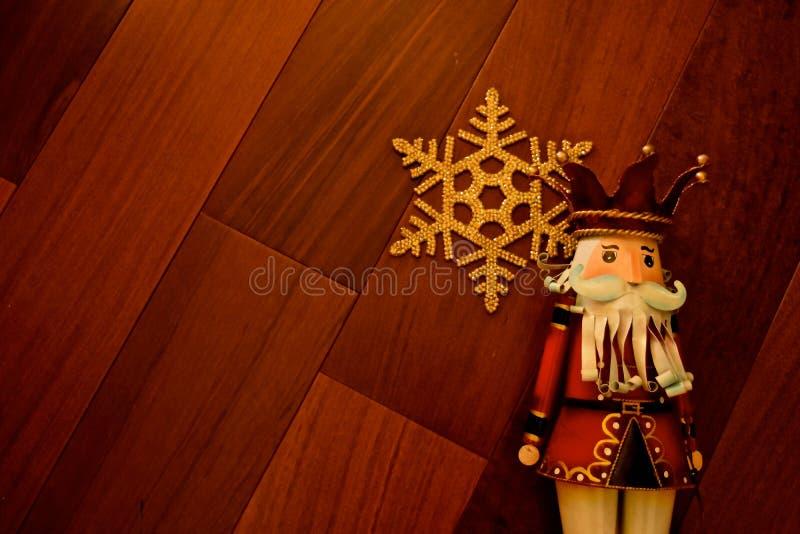 Украшение рождества - Щелкунчики стоковое изображение