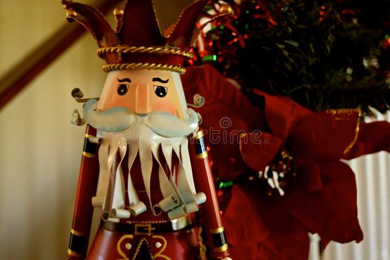 Украшение рождества - Щелкунчики стоковые фото