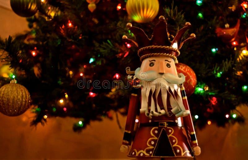 Украшение рождества - Щелкунчики стоковое фото rf