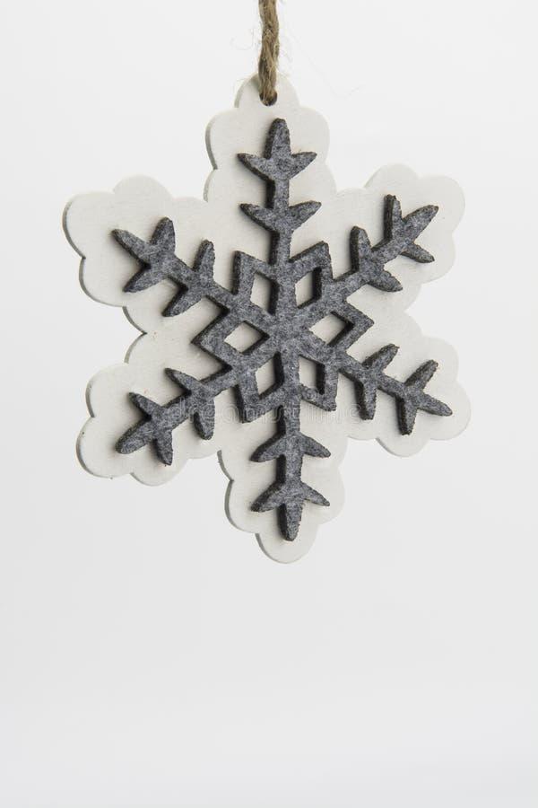 Украшение рождества Snoewflake стоковые фото