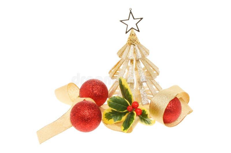 Украшение рождественской елки стоковые фото