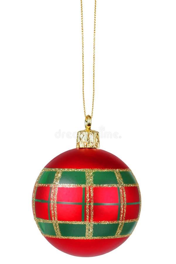 Украшение рождественской елки стоковая фотография