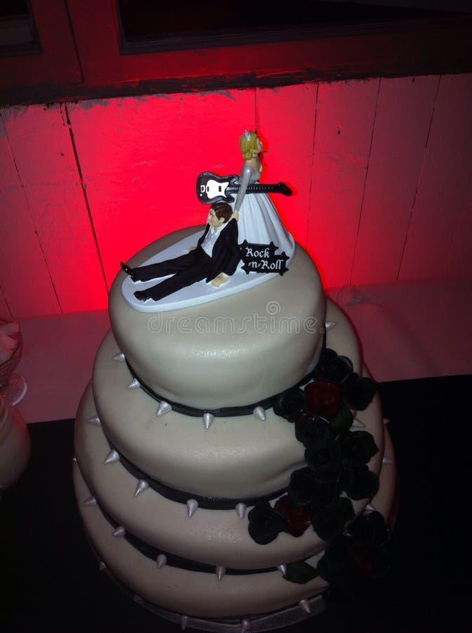 Украшение свадебного пирога стоковая фотография rf
