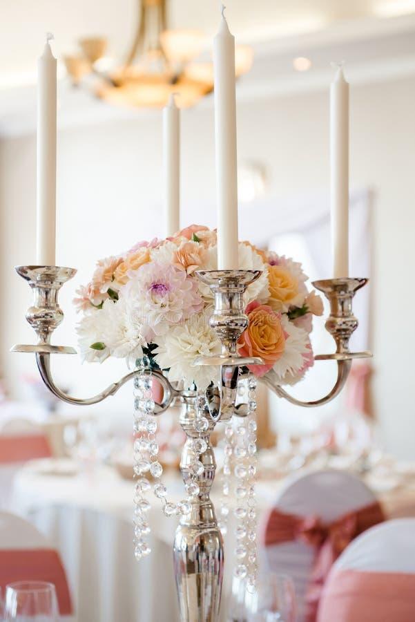 Украшение свадьбы стоковое изображение rf