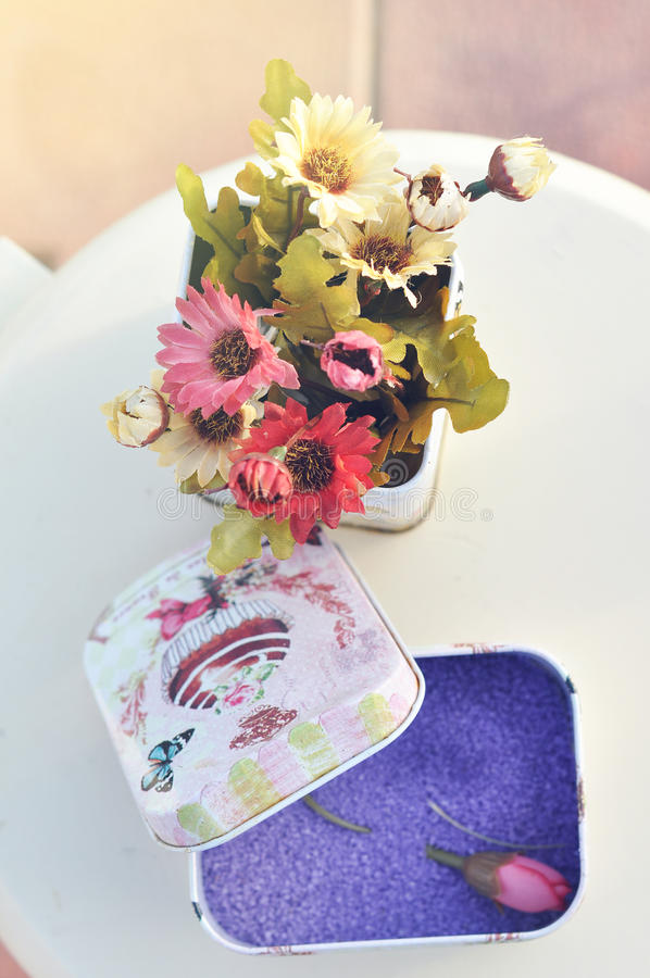 Украшение цветка для wedding и партии стоковая фотография rf