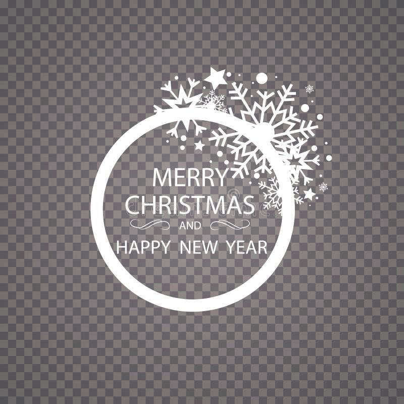 Украшение яркого блеска поздравительной открытки счастливого Нового Года с Рождеством Христовым золотое орнамент поздравительной  иллюстрация вектора