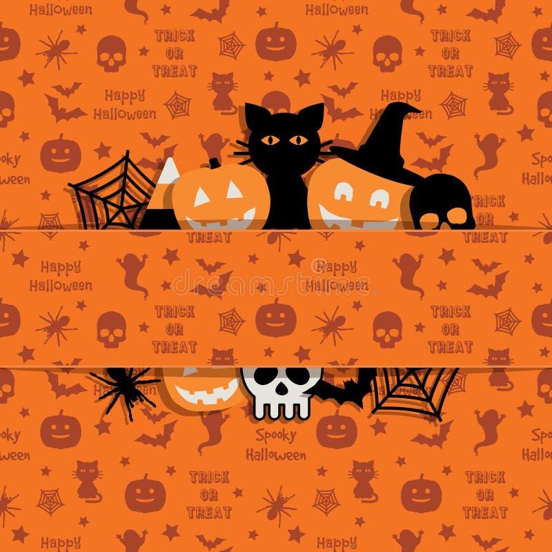 украшение halloween иллюстрация штока