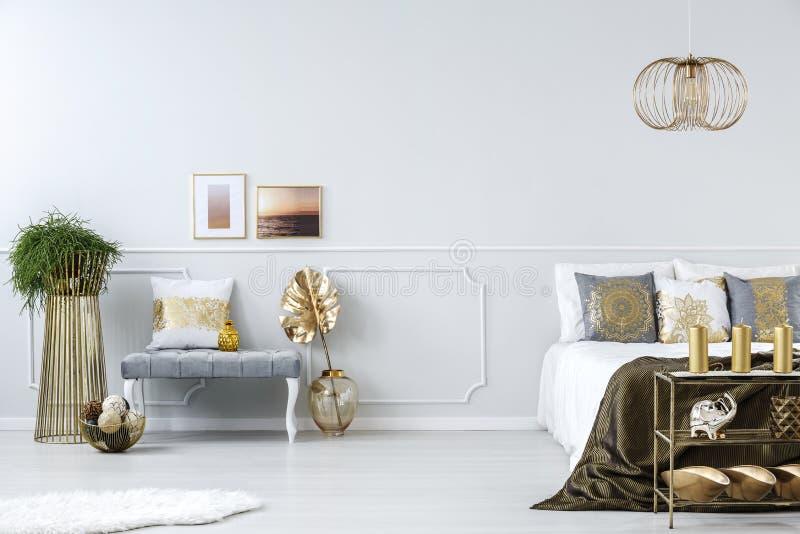 Украшения в спальне стоковое фото rf