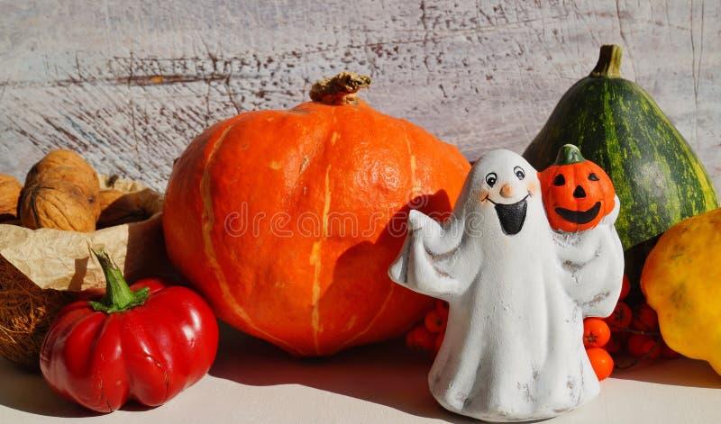 Украшения осени хеллоуина стоковое изображение