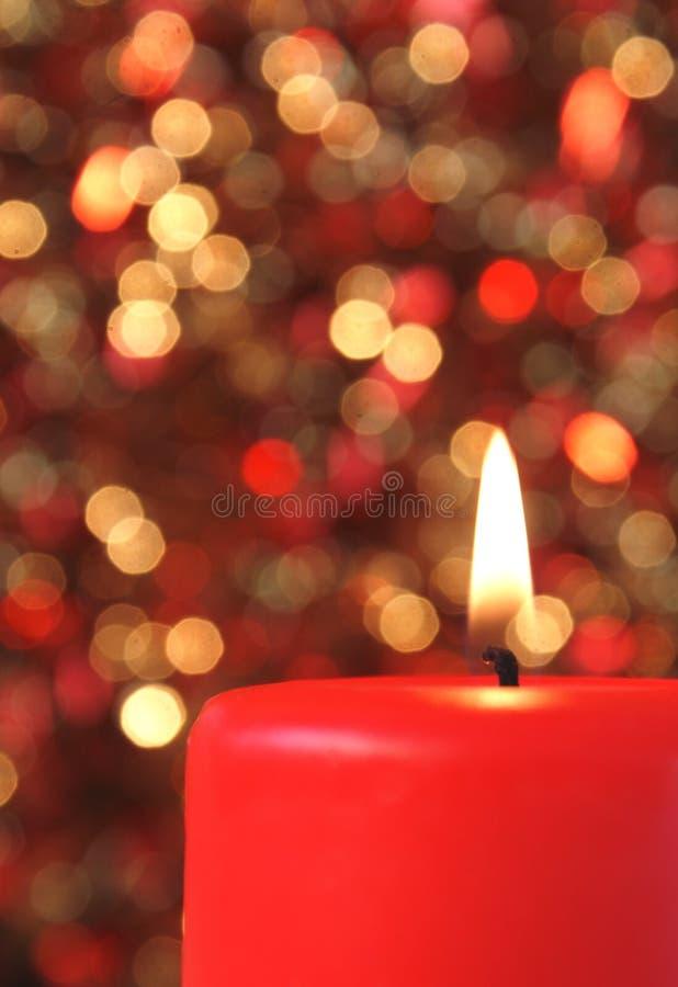 украшения рождества свечки стоковые изображения