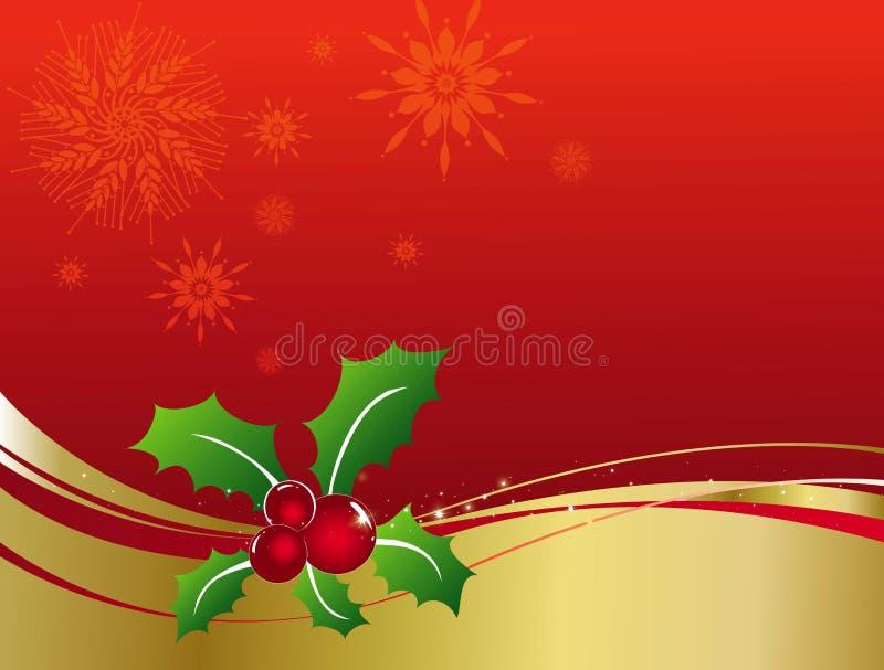 украшения рождества иллюстрация вектора