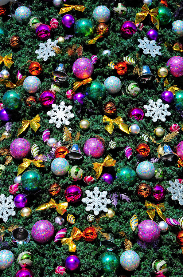 Украшения рождественской елки стоковая фотография rf