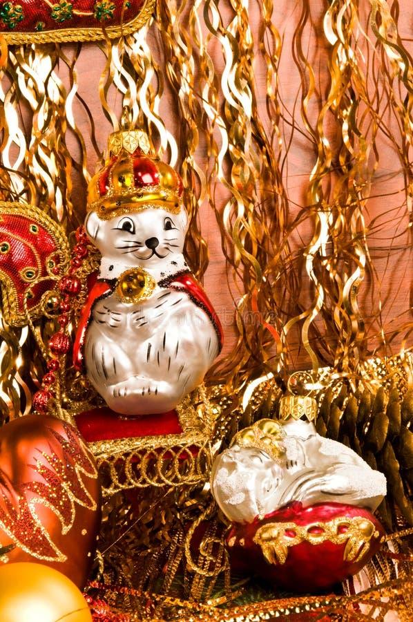 украшения Рождеств-вала стоковое изображение rf