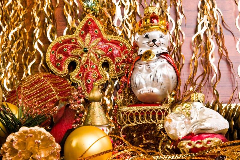 украшения Рождеств-вала стоковые изображения