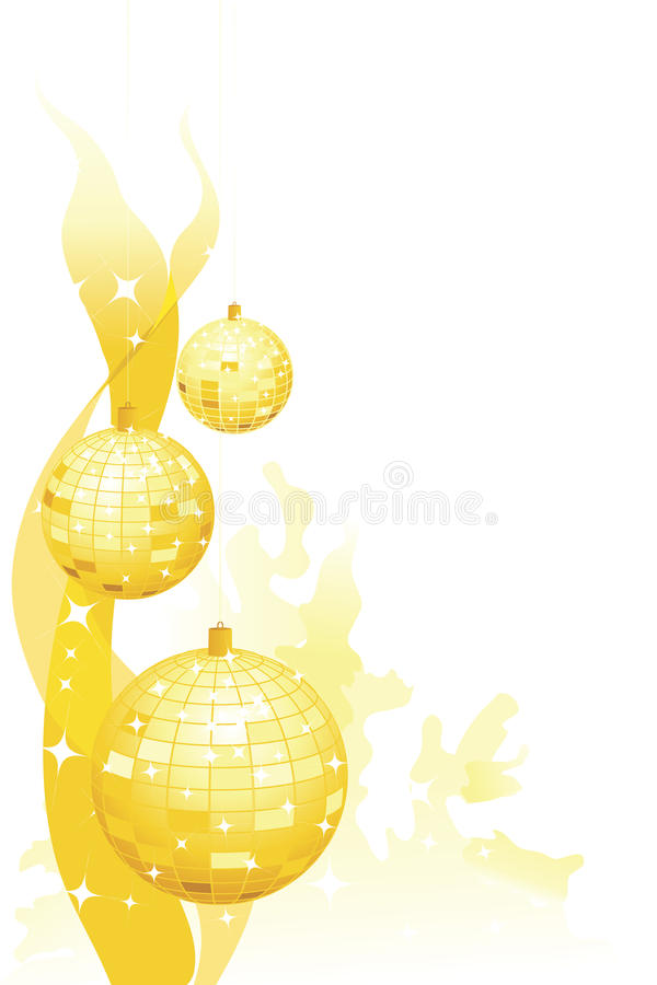 украшения party sparkly стоковое изображение rf