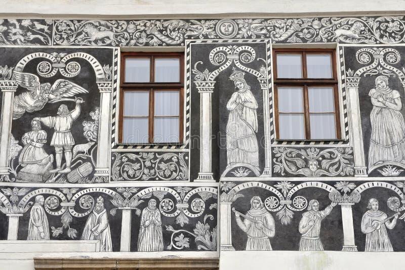 украшенная дом стоковое фото rf