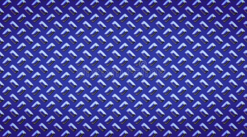 Украшенная поверхность металла Металл заклепывает картину Отполированная конспектом backgroundDecorated сталью медная поверхность иллюстрация вектора