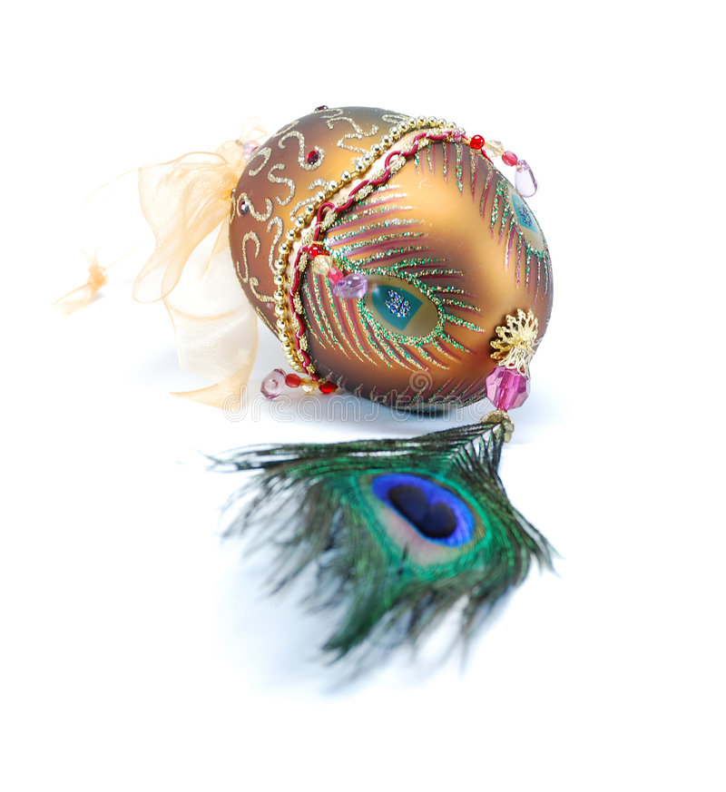 украшенное яичко стоковая фотография