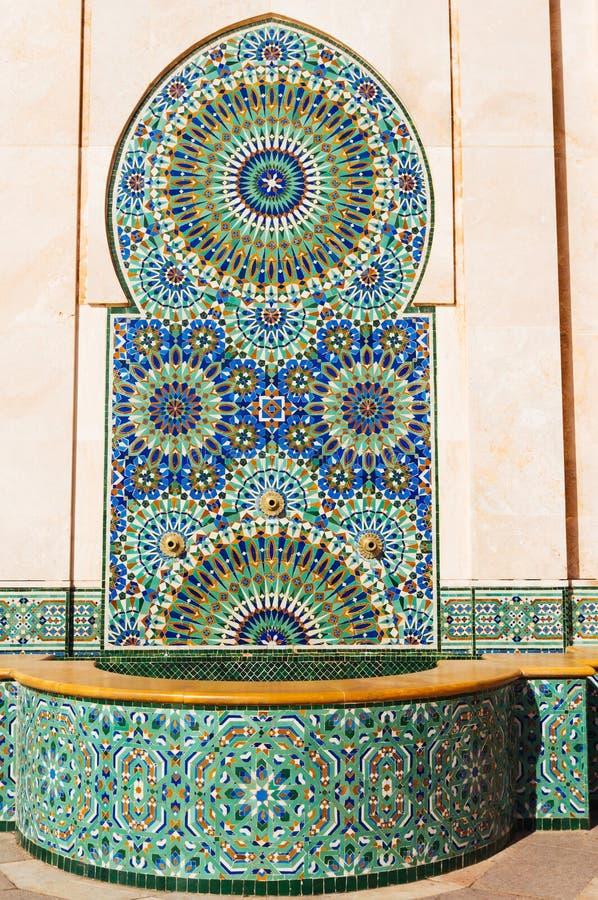 украшенный фонтан стоковое фото