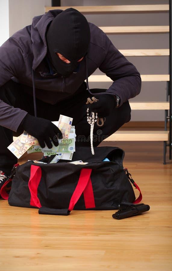 Украденная сумка ханж стоковые изображения rf