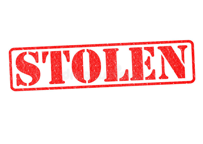 украдено стоковое фото