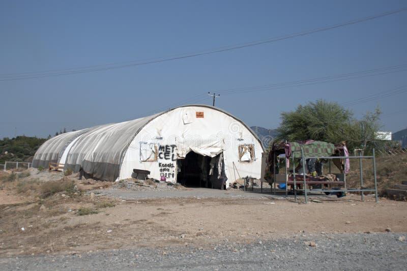 Укрытие беженца стоковые изображения rf