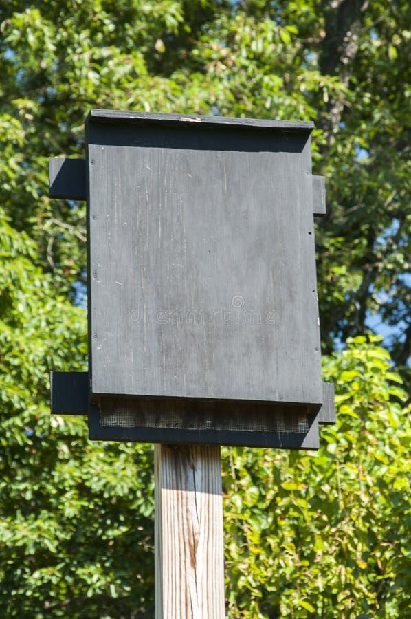 Укрытие деревянной летучей мыши стоковое изображение