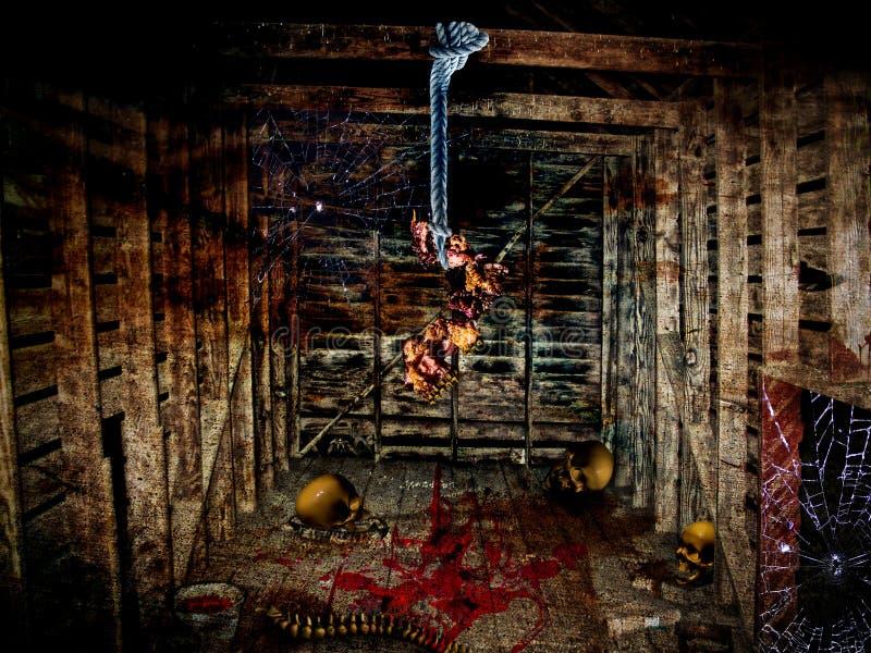 укрытие halloween стоковые фотографии rf