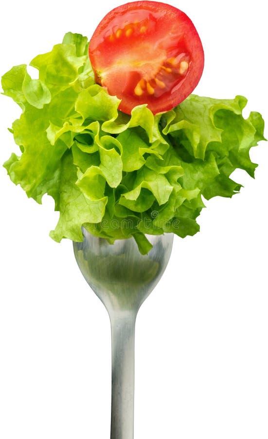 Укус салата стоковое фото rf