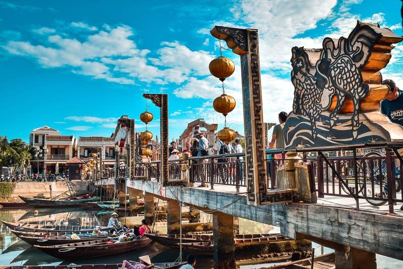 Уклад жизни в Hoian стоковое фото
