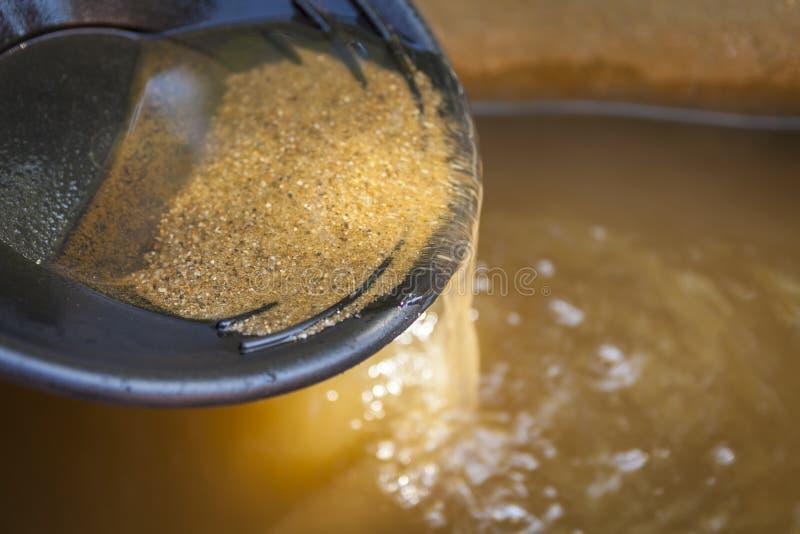 укладка в форме золота стоковая фотография