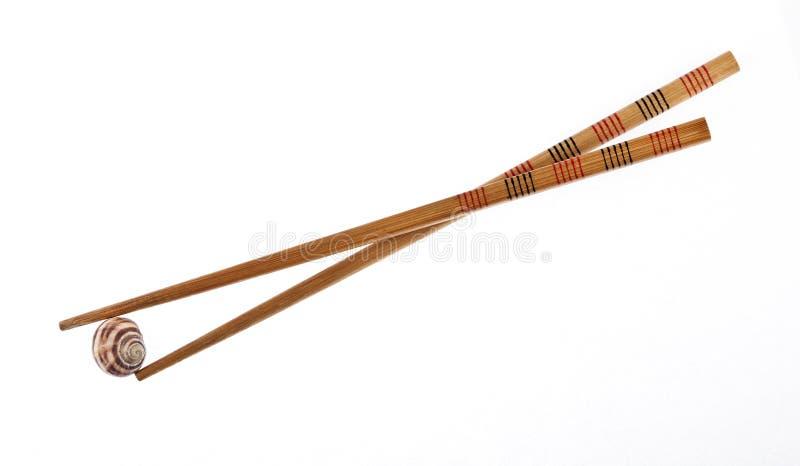 Download улитка палочек стоковое фото. изображение насчитывающей обед - 18382206