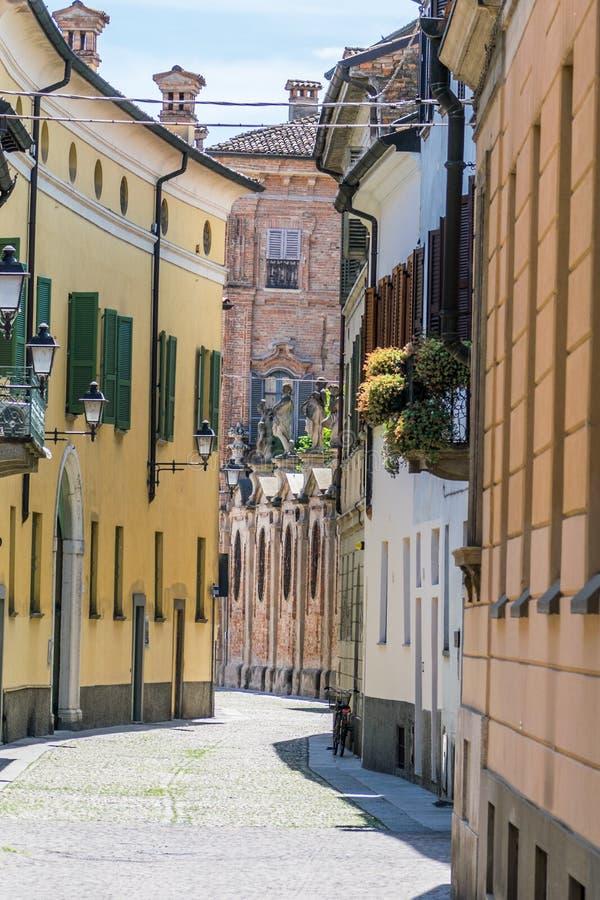 Улица в Италии более близкой стоковая фотография