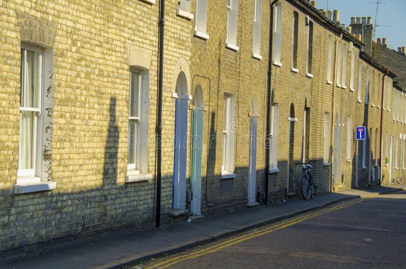 Улица в Кембридже стоковые фотографии rf