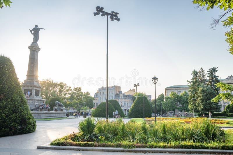 Улица в уловке в Болгарии стоковое фото rf